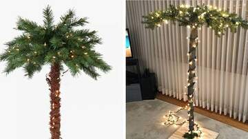Beth and Friends - Target Now Selling A 6-Foot Christmas Palm Tree Cause Summer Is Never Over