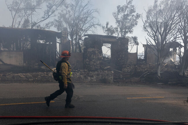 Firefighters Trying to Remain Energized as Wildfires Burn
