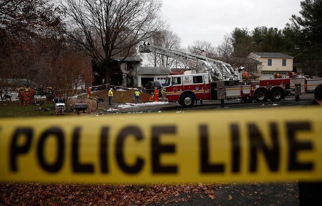 Small Plane Crashes Into Residual Area In Suburban Maryland