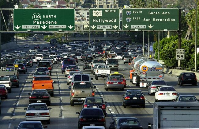 Study Declares Los Angeles to Have Nation's Worst Traffic