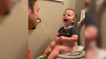 Leigh Ann and Jeremy - Funny Potty-Training Video Goes Viral!