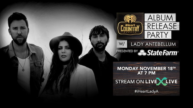 iHeartRadio Album Release Party with Lady Antebellum presented by State Farm