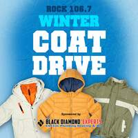 Join Rock 106.7 and Black Diamond Experts in Our Winter Coat Drive!