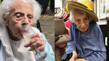 Tim Ben & Brooke - This 108-Year-Old Woman Says The Secret To A Long Life Is Champagne