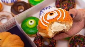 Reid - Krispy Kreme Is Giving Away Free Donuts On Halloween