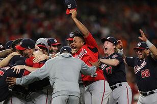 Washington Nationals Win First Ever World Series Championship