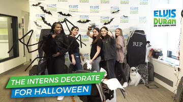 Elvis Duran - See The Elvis Duran Studio Transform For Halloween
