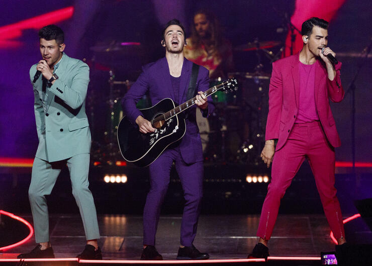 Jonas Brothers In Concert - Vancouver, BC