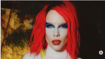 Whip - Halsey dressed as Marilyn Manson and now you'll feel weird