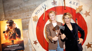 Ryan Seacrest - Go Inside the 'Terminator: Dark Fate' Axe Throwing Screening Party! Photos