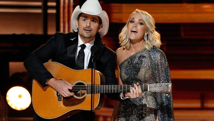 Brad Paisley's New TV Special To Feature Carrie Underwood Among Other Stars