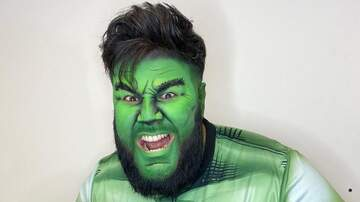 Chuey Martinez - Chuey Goes Hulk For Halloween