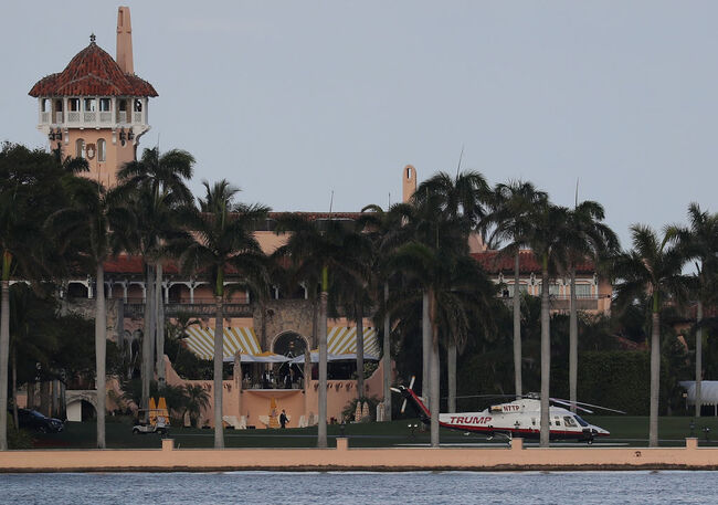 Donald Trump Hosts Chinese President Xi Jinping At Mar-A-Lago