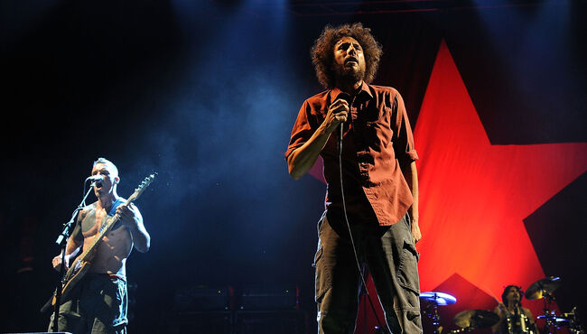 "Rage Against The Machine And Goldenvoice Present ""L.A. Rising"""