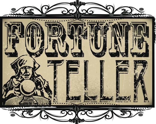 Fortune Teller Sign