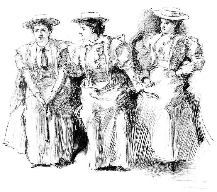 Women's Suffragists in New York City, New York, United States - 19th Century