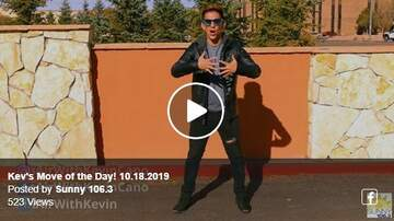 Zumba Move Of The Day - Kev's Move of the Day 10-18-19