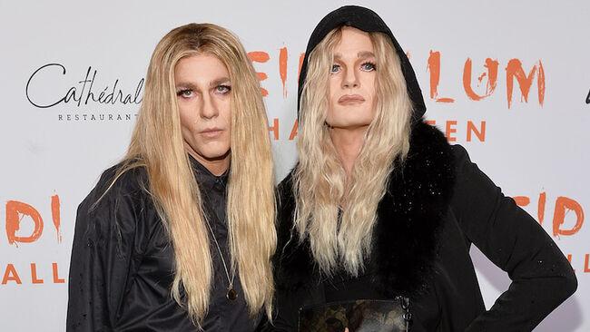 Neil Patrick Harris & David Burtka Look Unreal In Olsen Twins Costumes