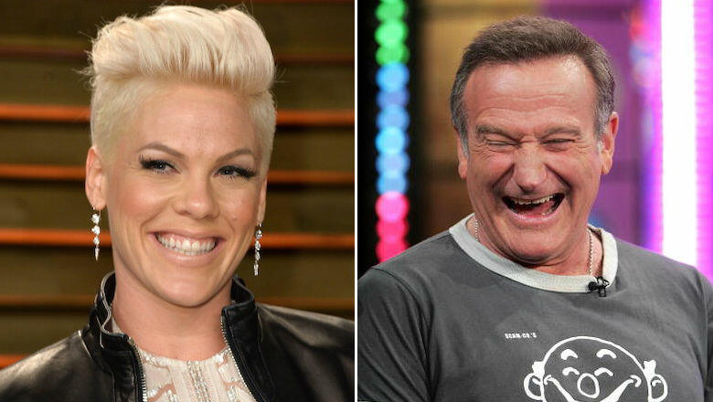 Pink Recalls Robin Williams Hilariously Cheering Her Up After Grammy Snub