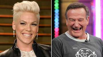 Entertainment News - Pink Recalls Robin Williams Hilariously Cheering Her Up After Grammy Snub