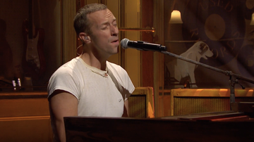Entertainment News - Coldplay Debuts Piano-Led Ballad 'Everyday Life' On 'SNL': Watch