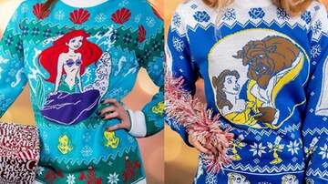 Mathew & Priscilla In The Morning - There Are Now Ugly Disney Christmas Sweaters & I Need This For Christmas