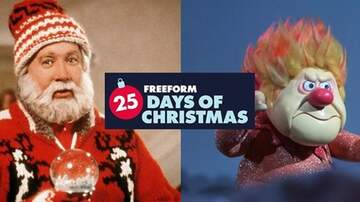 Mathew & Priscilla In The Morning - Freeform's 25 Days Of Christmas Lineup Is Here & It's Amazing!