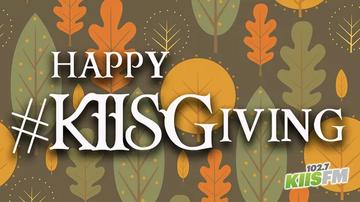 KIIS Articles - Win KIISGiving Prizes All Thanksgiving Season In LA!