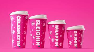 Holidays - Peppermint Mochas Are Officially Back As Dunkin' Rolls Out New Holiday Menu