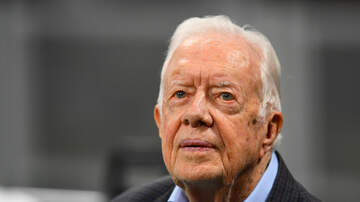 Politics - Former President Jimmy Carter Says He's Completely At Ease With Death
