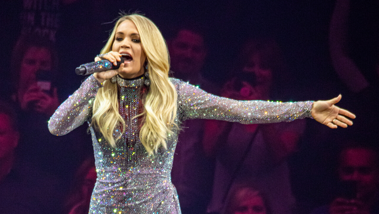 Carrie Underwood Tears Up Reflecting On End Of 'Cry Pretty 360' Tour