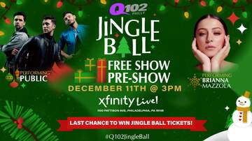 None - Q102 Jingle Ball Free Show Pre-Show!