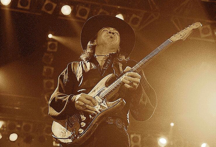 Photo of Stevie Ray VAUGHAN
