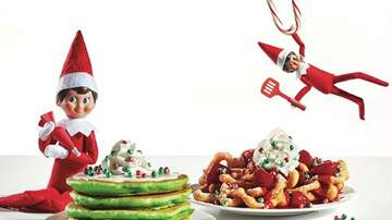 Reid - IHOP Now Has An Entire 'Elf On The Shelf' Menu Including Funnel Cakes