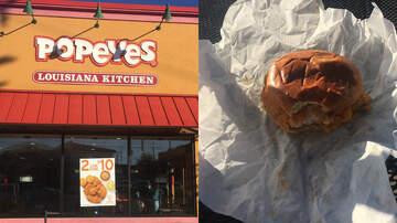 Bobby Bones - Lunchbox Waited In Line For Popeyes Chicken Sandwich, Got Reviews