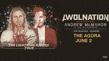 Features - Purchase presale tickets to see Awolnation & Andrew McMahon