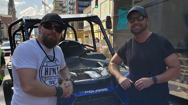 Brantley Gilbert + Cody Alan Take A Wild Ride