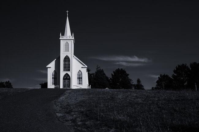 Saint Teresa of Avila Church, Bodega, California, USA