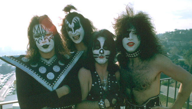 Kiss Portrait Session In LA