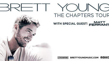 None - KSSN 96 welcomes Brett Young: The Chapters Tour