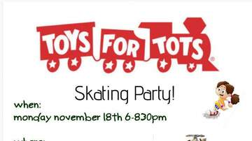 Bryce Matson - Toys for Tots Skating Party