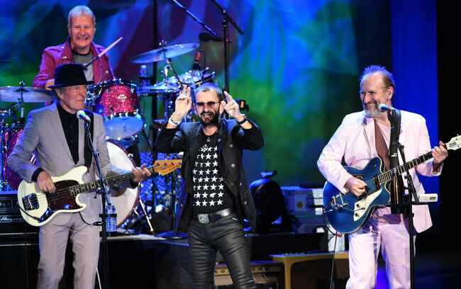 Ringo Starr And His All Starr Band Perform At The Greek Theatre