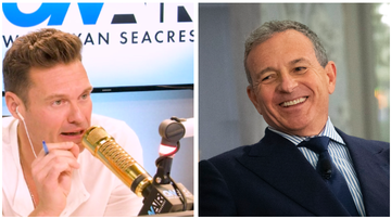 Ryan Seacrest - Disney CEO Bob Iger Sheds Light on Success Secrets — and Disney+!