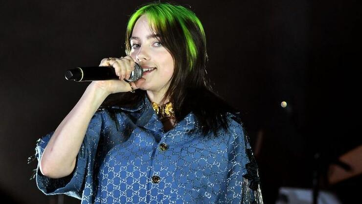 Billie Eilish Is Rockin' A New 'Do Because Someone Burned Off Half Her Hair | iHeartRadio