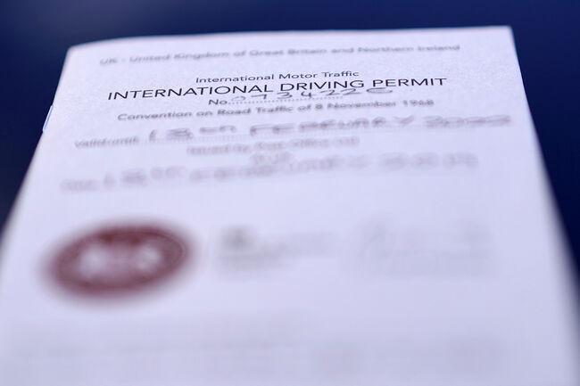International Drivers Licence