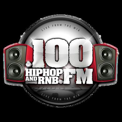 .100 Hip Hop and RNB FM logo