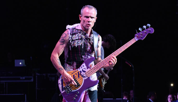 "Flea Says He Took Lots Of ""Wild And Entertaining"" Stories Out Of His Memoir 