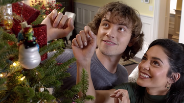 Headlines - First Trailer For Vanessa Hudgens' 'The Knight Before Christmas' Is Here