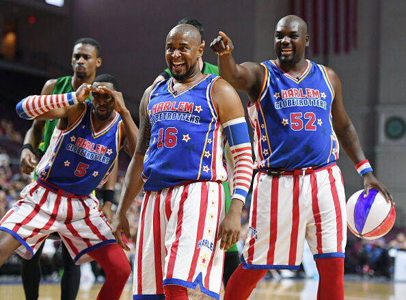 Harlem Globetrotters At The Orleans Arena In Las Vegas