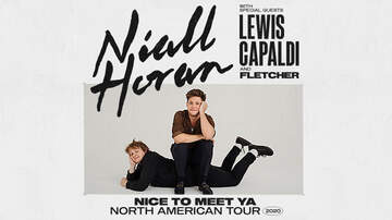 image for Niall Horan Nice To Meet Ya Tour With Lewis Capaldi & Fletcher